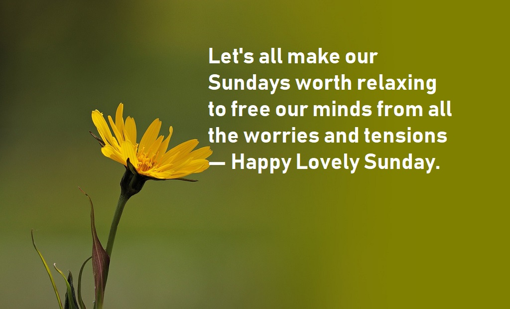 Happy Sunday quotes make your day beautiful - BestInfoHub